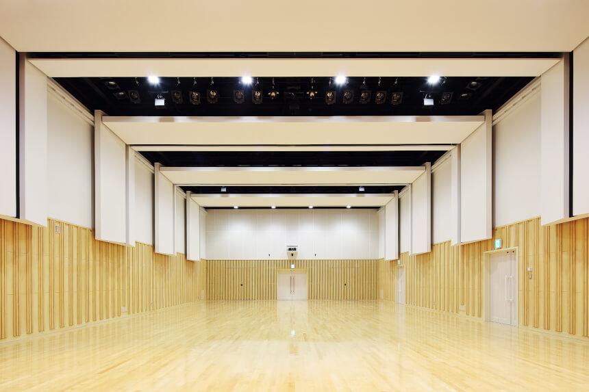 2階 ホール